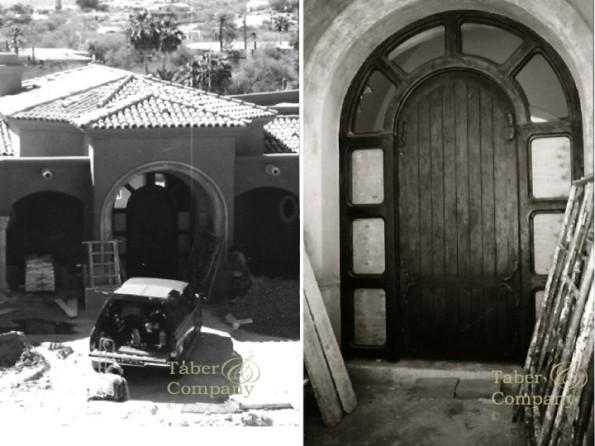 massive old world custom mediterranean front door