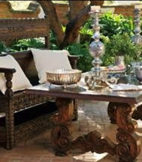 Spanish Hacienda Style Furniture and Architecture Issue Phoenix Home & Garden Issue
