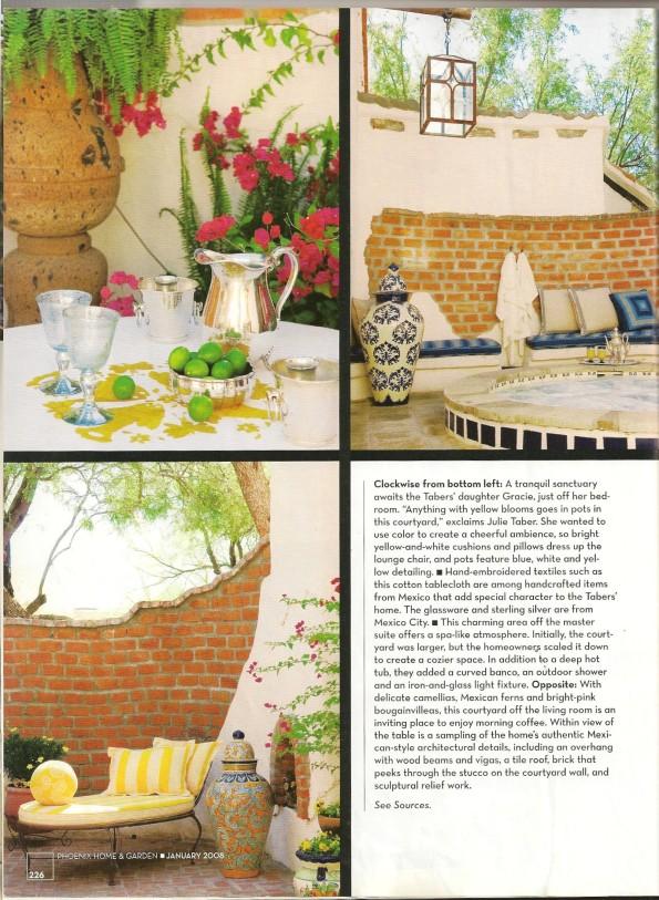 Hacienda Style Furniture Phoenix Home & Garden Issue