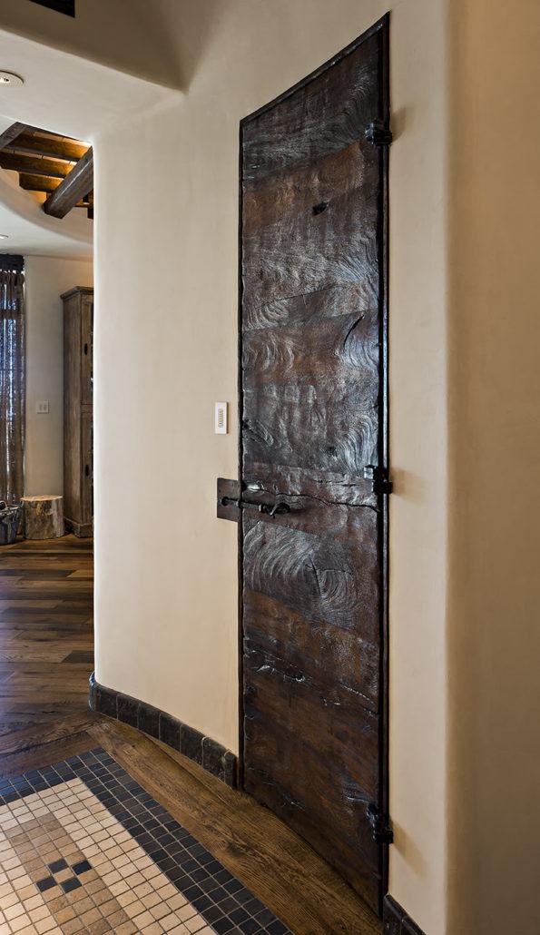 custom mesquite door, wooden door, custom doors