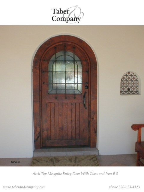 Wood Entry Doors Arched And Round Top Taber Companytaber Company