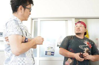 突きん棒漁2