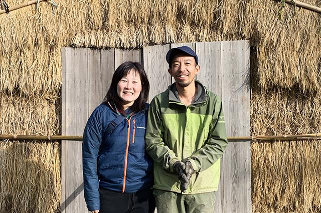 茨木市 三島独活農家 中井さんご夫妻