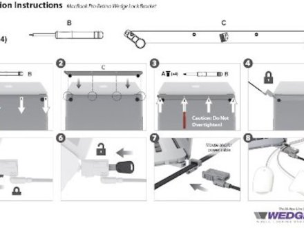 noble mbNoble Wedge Bracket Instructionsa11 instructions