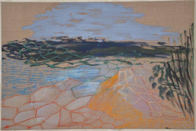 Oil on canvas. 30x45cm.