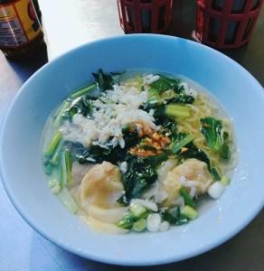 タイのスープ麺、バーミー