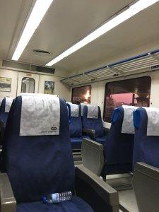 ピニャオンへの列車内