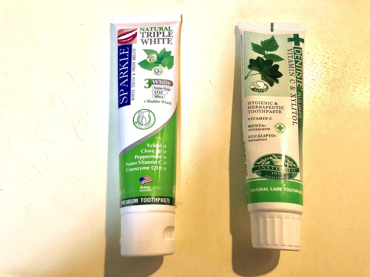 タイ土産なら歯磨き粉でしょ!人気のデンティスVSスパークル比較レビュー
