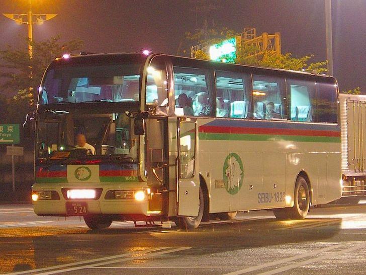 西武高原バスの高速バス
