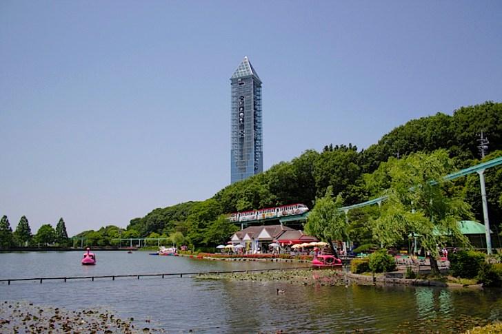 東山動植物園と東山タワー