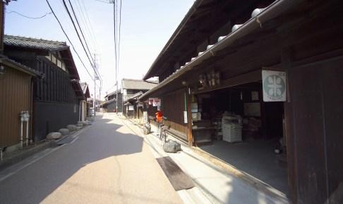 中小田井の町並み