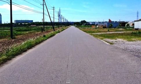 中島飛行機滑走路跡