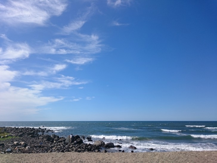 象潟海岸(象潟海水浴場)