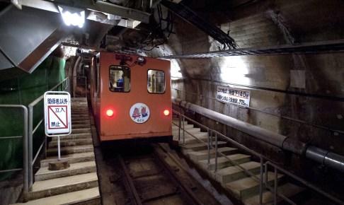 青函トンネル竜飛斜坑線・体験坑道駅