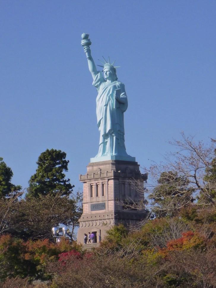 日本一の自由の女神像