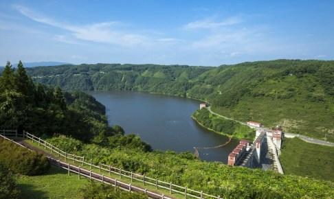 青葉湖(世増ダム)