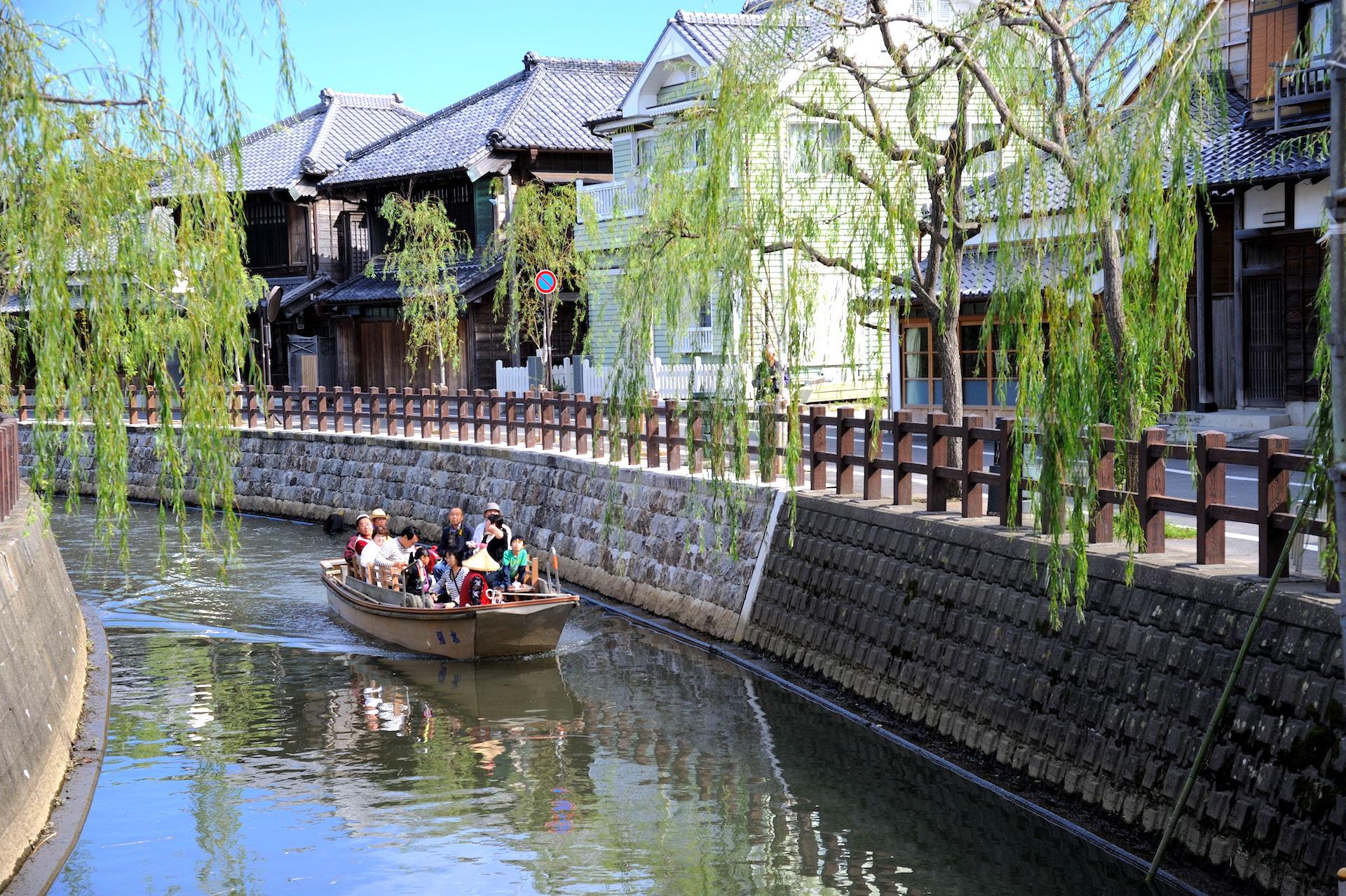 珍酒_佐原の町並み(香取市佐原伝統的建造物群保存地区)
