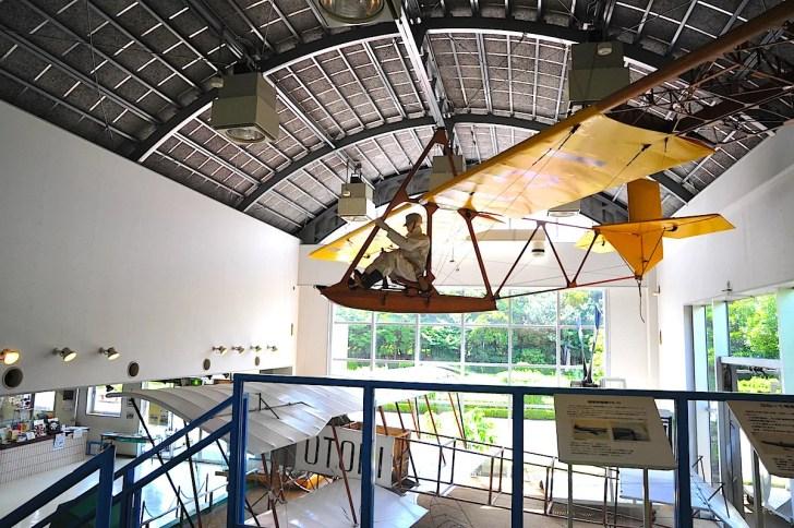 グライダー「プライマリー」と「鳳」号復元機