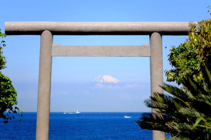 洲崎神社浜鳥居