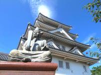 墨俣一夜城(墨俣歴史資料館)