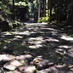 中山道落合の石畳