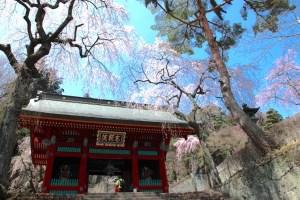 妙義神社総門(旧白雲山石塔寺仁王門)