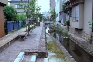 道三川(福山城外堀)