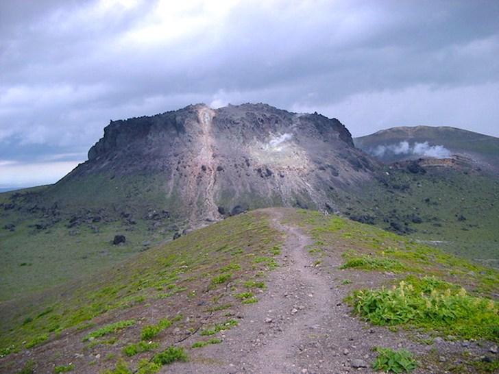 樽前山溶岩ドーム