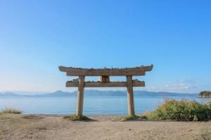 直島・恵美須神社鳥居