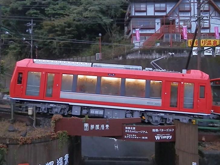 箱根登山鉄道・日本一の急勾配(80‰)