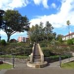 港の見える丘公園イギリス山地区・バラとカスケードの庭