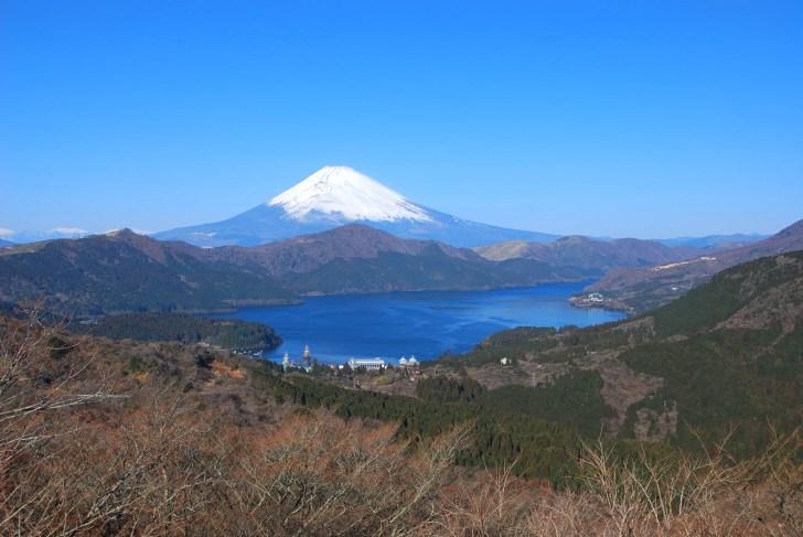 天閣台(富士見峠)