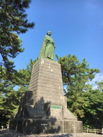 桂浜・坂本龍馬像
