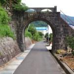 旧魚梁瀬森林鉄道施設・法恩寺跨線橋