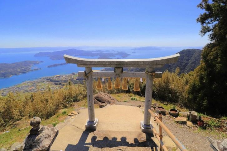 倉岳神社(天空の鳥居)
