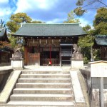 敷地神社(わら天神)
