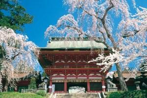 鹽竈神社・随神門(楼門)