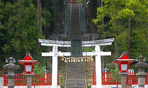 鹽竈神社・表参道石鳥居
