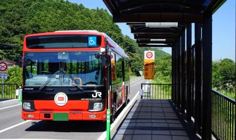 JR気仙沼線BRT(バス高速輸送システム)・柳津駅