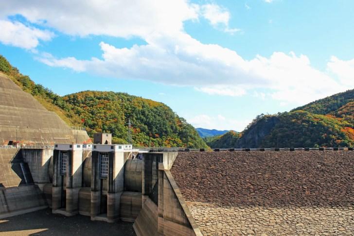 七ヶ宿ダム(七ヶ宿湖)