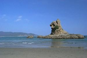 梅ヶ浜・ライオン岩