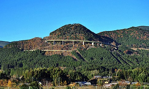 えびのループ橋(霧の大橋)