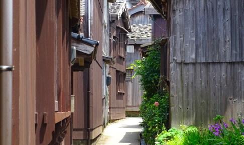宿根木(佐渡宿根木伝統的建造物群保存地区)