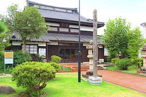 昌福寺(長岡国漢学校発祥之地)