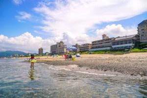 瀬波温泉海水浴場