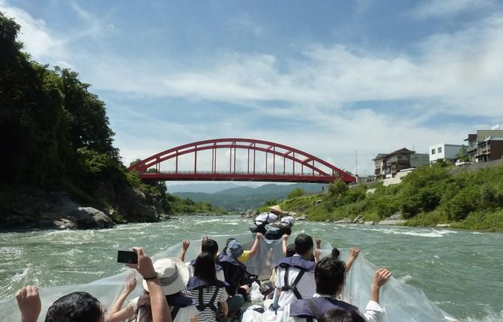天竜川・舟下り