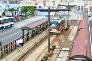 長崎電気軌道・長崎駅前電停