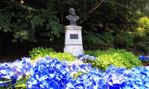 シーボルト宅跡(鳴滝塾跡)