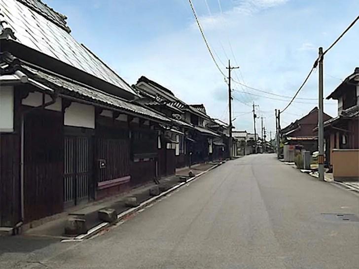 備前福岡の町並み