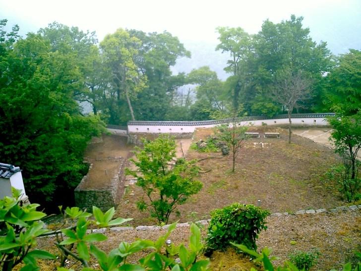 備中松山城・三の平櫓東土塀